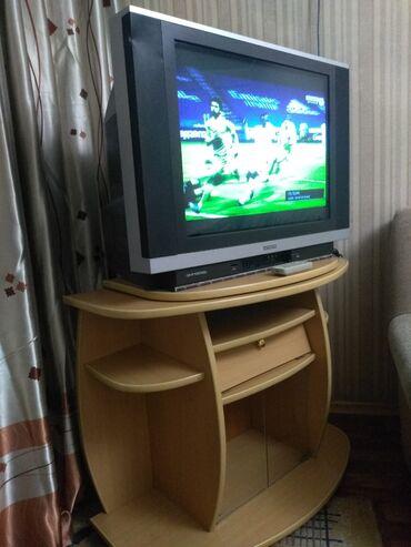 черное вышитое платье в Кыргызстан: Продаю телевизор HITACHIВместе с крутящейся тумбой под телевизор на