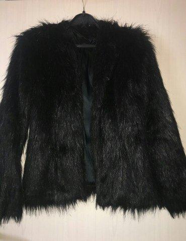 Prava kozna krznena bunda kao nova ,  38,40 odgovara veličini. Kupljen - Kragujevac