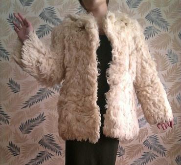 Женская одежда в Шопоков: Шуба из козы размер 46-48 2000 сом