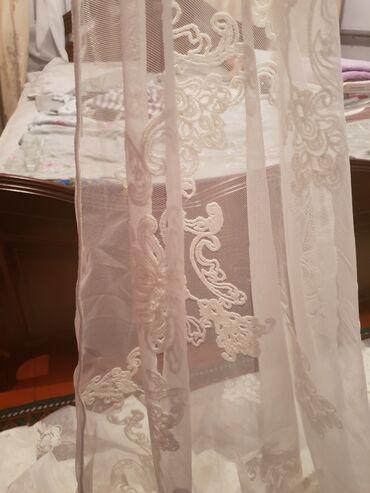 жалюзи на стеклопакеты в Кыргызстан: Продам Новые шторыДлина 270 сшита на всю длину Тюль 4.5 метров