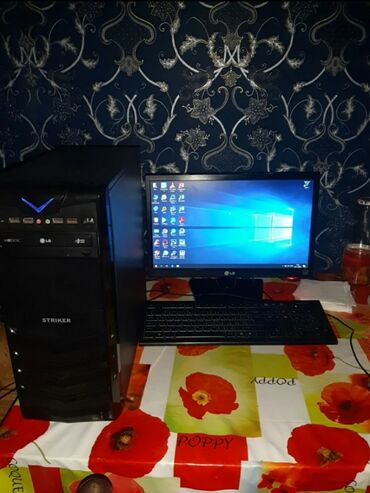 запчасти cr v в Азербайджан: Prosessor: Core i3 2120 3.30GHz Motherboard: ASUS P8H61-M LE Ram: 8 Vi