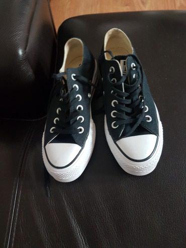 Crne All'star  original sa platformom jednom nošene - Zrenjanin