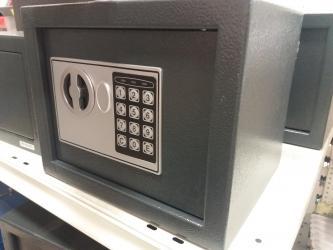 Sef - Srbija: SEF ELEKTRONIK 250X200X200MM .- U slucaju tri pogrešna unošenja šifre