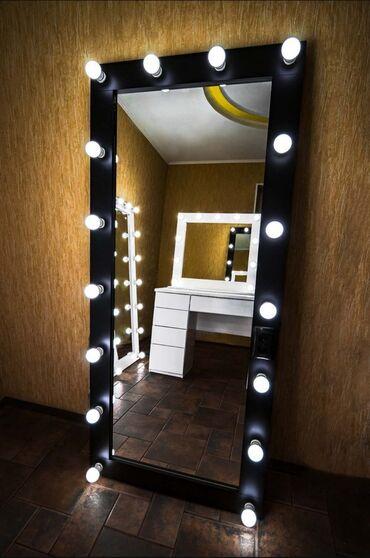 держатель для зубных щеток и пасты настенный в Кыргызстан: Производство и продажа зеркал в Бишкеке.  Гримёрные, напольные, настен