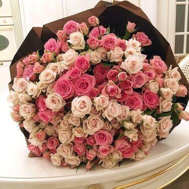 ЦВЕТЫ ! ГЕЛИЕВЫЕ ШАРЫ!КОМНАТНЫЕ ЦВЕТЫ!Голландские розы ( при покупке