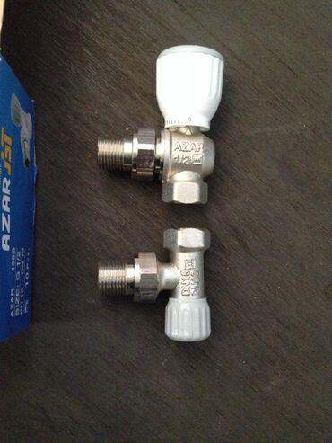 Угловые латунные регулировочные краны для отопительных радиаторов