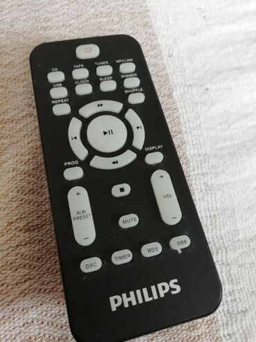 Bermude n - Srbija: Daljinski Philips kao nov. Za audio uređaje. Odgovara velikom broju