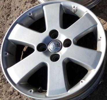 Диски Toyota IST R15 4x100 (оригинал) из Японии.  Оригинальные диски Т