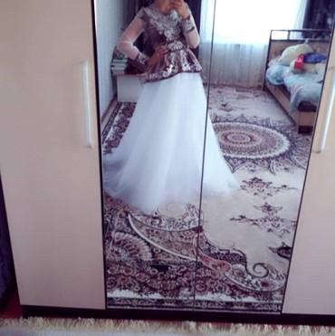 """Продаю платье.Одевала один раз .Отлично подойдёт на """"Кыз узатуу"""". в Бишкек"""