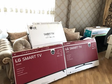 Bakı şəhərində Teze upakovka Smart Lg televizorlari Ag rengi,qara rengi