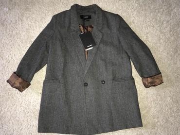 Верхняя одежда в Каинды: Пиджак pull&bearРазмер s, но подойдёт на m, так как модель