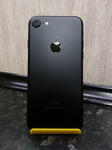 iphone 7 в Кыргызстан: Б/У iPhone 7 128 ГБ Черный