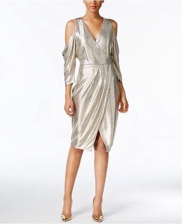 золотое платье в пол в Кыргызстан: Продаю вечернее платье Rachel Roy's Размер М Ткань: полиэстер/эластан/