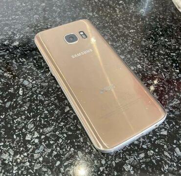 игровая клавиатура для телефона в Кыргызстан: Б/у Samsung Galaxy S7 32 ГБ Золотой
