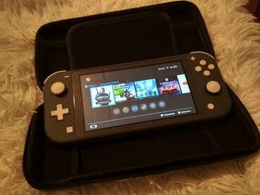 Nintendo Switch - Кыргызстан: Продаю nintendo switch lite в идеальном состоянии (коробка, зарядка