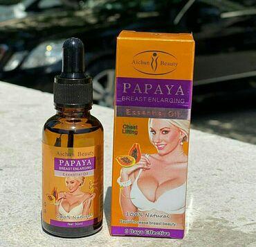 Papaya Breast Enlarging serum. İstehsal yeri: Tailand (orjinal hologra