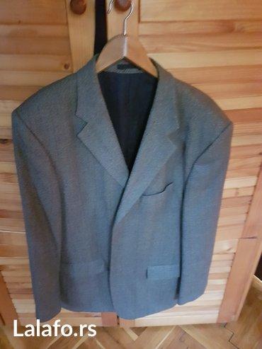 Muška odeća | Kikinda: Muski sako Nicola's proizvodnja, nosen samo jednom, veoma kvalitetno