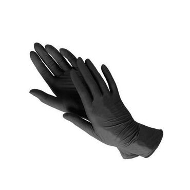 198 объявлений: Нитриловые черные перчатки без пудры - перчатки сочетающие в себе все