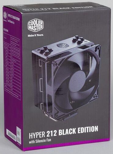 мат плата 1155 в Кыргызстан: CoolerMaster Hyper 212 Black Edition подходит на материнские платы с