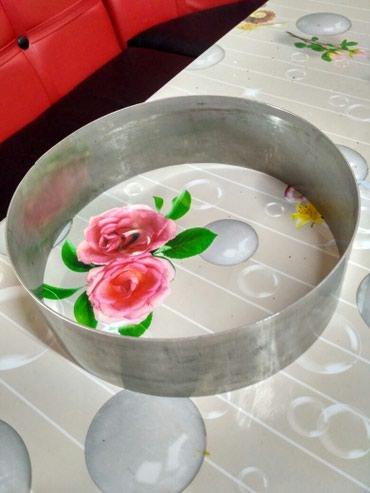 формы для выпечки буханок хлеба в Кыргызстан: Металлические формы для выпечки диаметр 17см -350с, 20см-400с