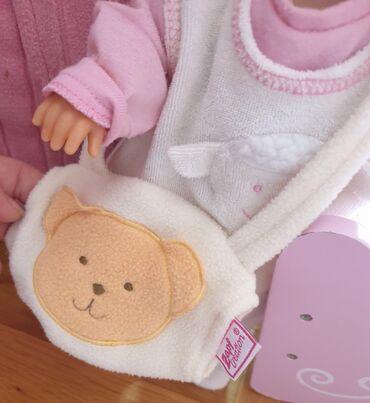 Torbice muske - Srbija: ZAPF baby born - torbica muf za ruke. Odeca za lutku bebu