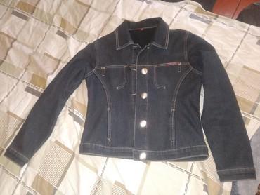 темно синее в Кыргызстан: Теплая джинсовка темно синего цвета! Практически новая!утепленая на