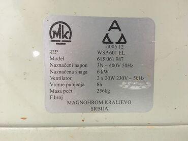 Magnohrom TA peć 6 kW U ispravnom stanju. Akumulira toplotnu energiju