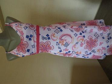 Duks haljina - Kraljevo: BLU MOTION haljina 40 velLagana, bela, postavljena haljina, u odlicnom