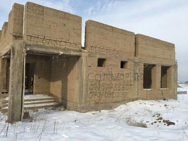 Продаю недостроенный дом мансардный в в Бишкек