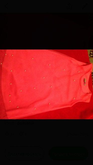 Платье на 4/5 лет, с бусинами в Бишкек