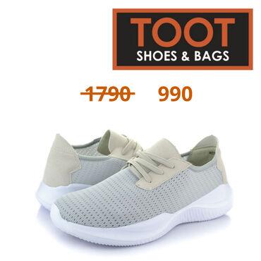 43-размер в Кыргызстан: Toot shoes&bags Кроссовки Артикул: 086-R038LY Детали Цвет Серый