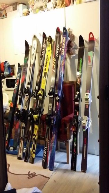 Skije - Srbija: Skije, u dobrom stanju, 8pari, 1500 dinara par