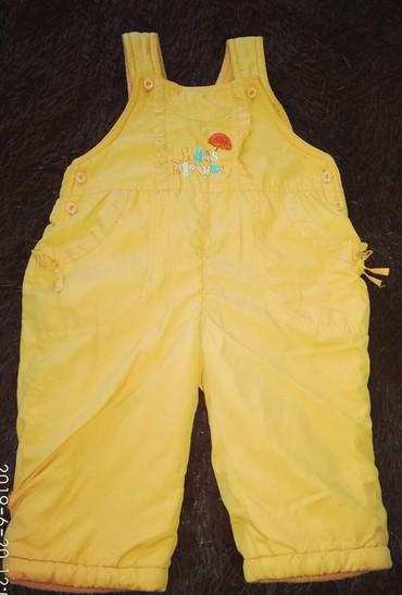 Верхняя одежда в Сокулук: Теплые штанишки для девочки,1-2 года,в хорошем состоянии. Сокулук