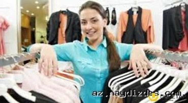 Bakı şəhərində Sederekde oboy magazasina satici xanim teleb olunur..Ish saati