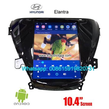 Hyundai Elantra Vertical Screen Car radio tesla android GPS navigation in Kathmandu
