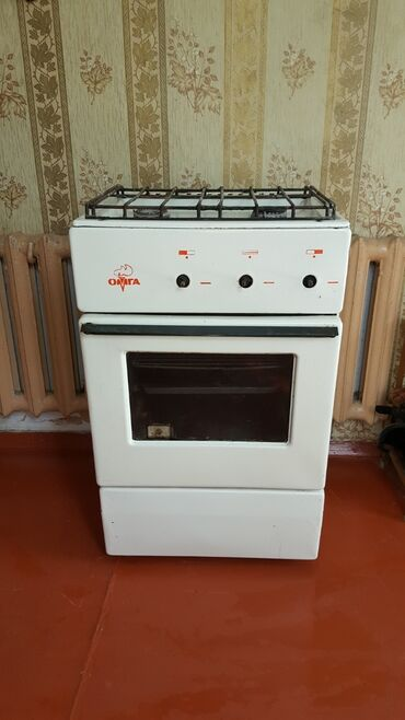 Советская газовая плита 2 конфорки б/у духовка двухконфорочная
