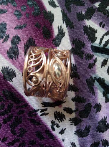 Продаётся кольцо серебро покрыто золотом размер 18_19 проба 925