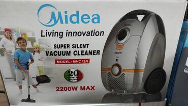 Пылесос:midea mvc12n 2200w Производитель:midea, оригинал Тип уборки:су