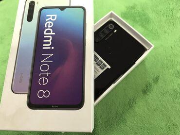 Xiaomi Redmi Note 8 | 64 ГБ | Черный | Б/у | Гарантия, Сенсорный, Отпечаток пальца