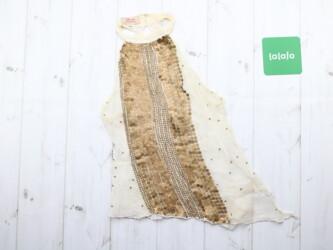 Нарядная женская летня кофточка с пайетками guess jans Длина: 50 см По