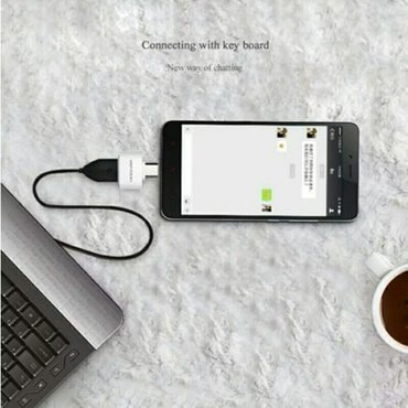 Xırdalan şəhərində Мини Micro Usb Otg USB OTG адаптер для samsung htc- şəkil 3