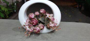 Интерьер-ваза с цветами стильно и красиво!!!