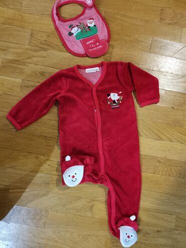 Bodi - Smederevska Palanka: Novogodisnja zeka u obliku Deda Mraza i portikla za bebe. Vel 80