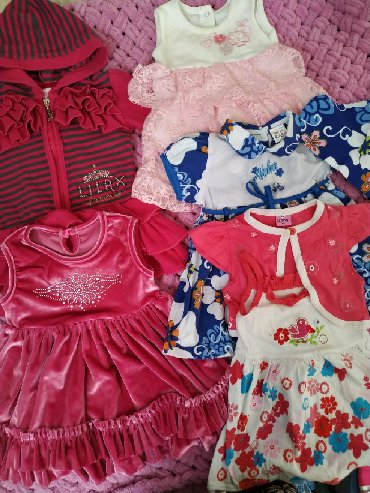 Детский мир - Чон-Таш: Платья разные и разного размера,цены приемлемые. Пишите отвечу сразу