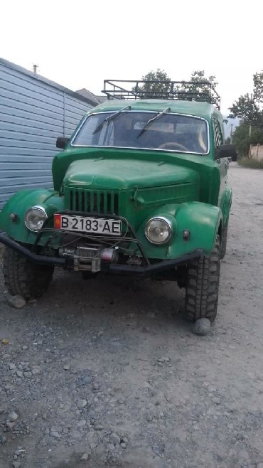 ГАЗ - Кыргызстан: ГАЗ 69 1966