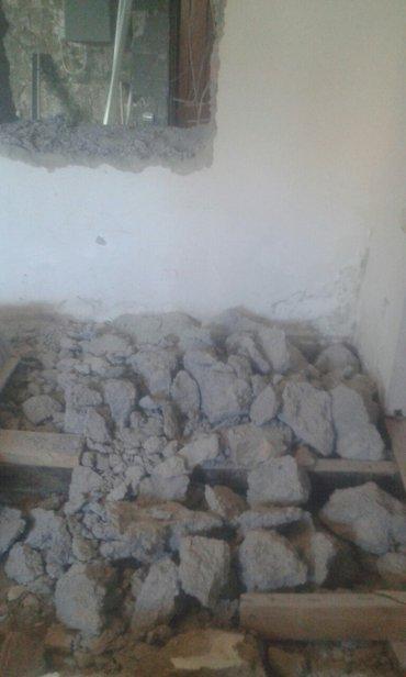 Слом бетона, кирпичных стен, снос в Лебединовка