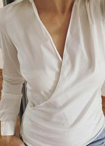 купить сенсорный диспенсер для жидкого мыла в Кыргызстан: Рубашка на запах Zara размер М