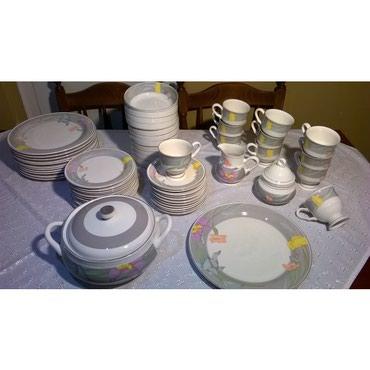 Σερβίτσιο φαγητού ( 67 τεμ.) Sangostone, αποτελούμενο από:12 πιάτα