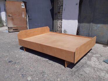 Двуспальные кровати - Кыргызстан: Кровать двуспальная из дерево