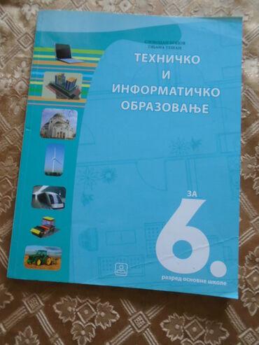 Tehničko i informatičko obrazovanje za 6. razred Osnovne škole